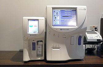 血糖(HbA1c)や炎症(CRP)測定装置
